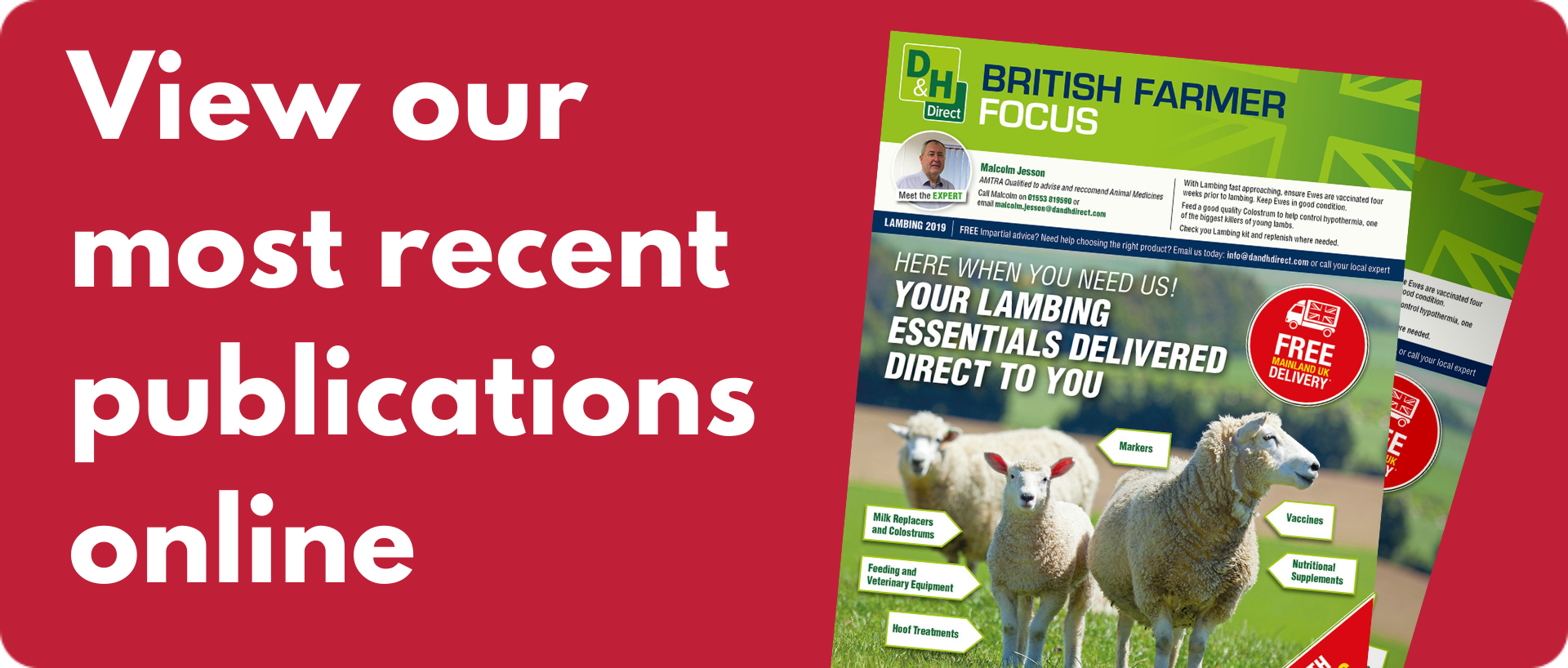 Download the latest British Farms Focucs